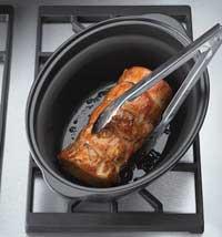 Crock pot saut 233 countdown slow cooker 5 7 litre silver amazon co