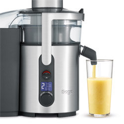 Create 100% fruit juice smoothies