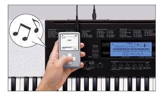 The CTK-4200 Audio Sampling