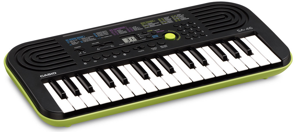 Casio Keyboard. Image Courtesy: amazon.com