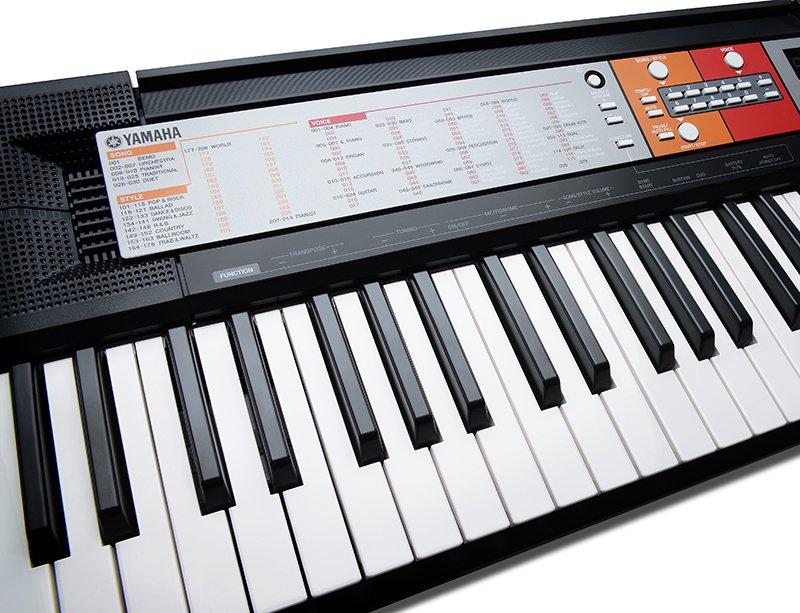 yamaha psr f50 portable keyboard black