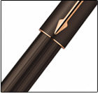 PARKER INGENUITY SLIM BLACK OR BROWN RUBBER PGT