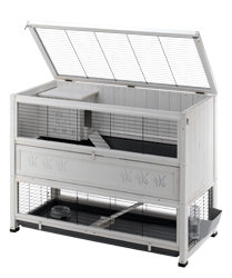 Ferplast Cottage Rabbit Hutch Large 129 X 68 X 103 5 Cm