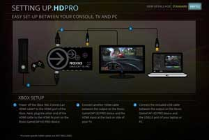 Setting Up HD PRO - XBOX