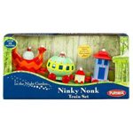 ninky nonk is a wonderful train of many colours and carriage sizes
