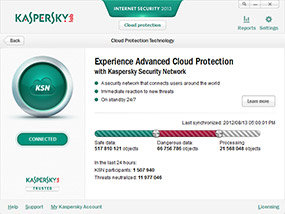 Kaspersky Internet Security 2013 Cloud