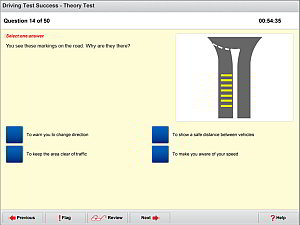 Practise all the official Theory Test revision questions licensed directly from the Driving Standards Agency