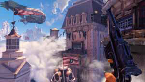 BioShock Infinite allows players to use supernatural powers as well as weapons