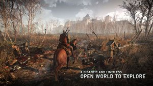 A gigantic and limitless open world to explore