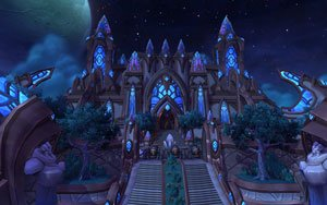 The Draenei city of Karabor before it became the Black Temple.