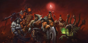 Mount a desperate charge on Draenor with new player character models and lead the armies of one world against another