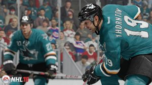 Real-world physics affect every player through every on-ice collision
