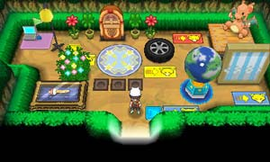 Build and decorate your Super-Secret Base how you like