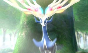 The Legendary Pokémon Xerneas