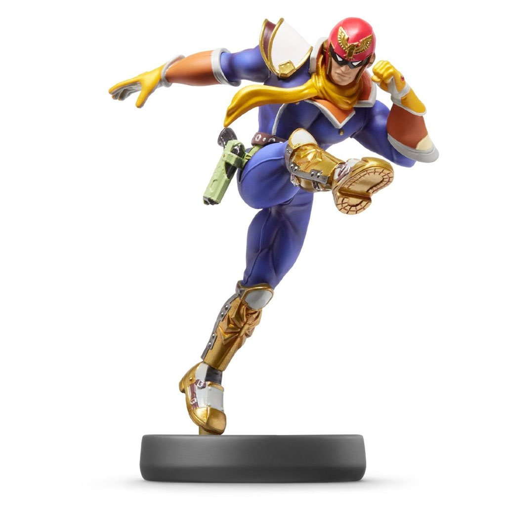 Nintendo amiibo Super Smash Bros. - Captain Falcon ...