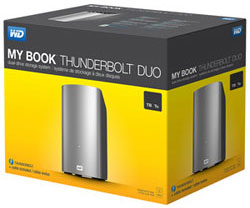 My Book Thunderbolt Duo: box