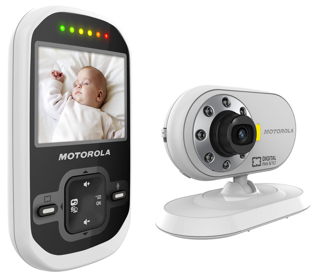 motorola mbp26 digital video baby monitor baby. Black Bedroom Furniture Sets. Home Design Ideas
