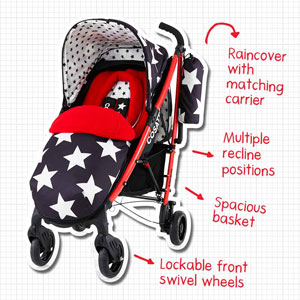Features of the Yo! Stroller