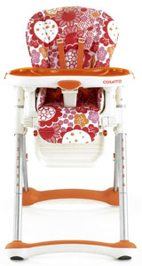Umami Highchair in Boom Bloom
