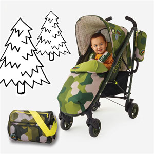 Baby using the Yo! Camosatto