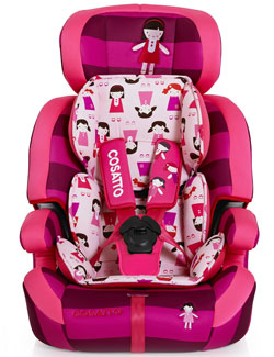 Zoomi car seat in Dilly Dolly