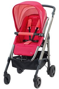 A modern and feature-packed pushchair
