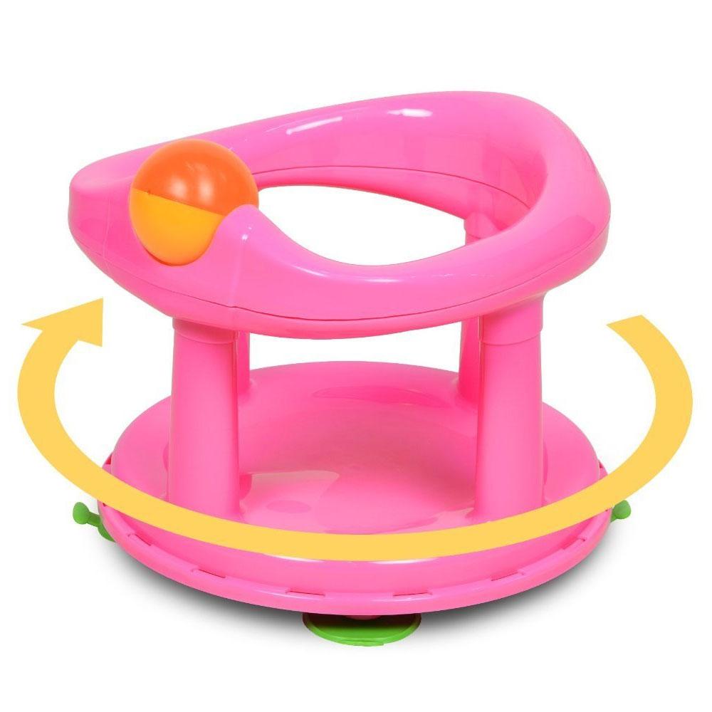 safety 1st swivel bath seat pink safety 1st. Black Bedroom Furniture Sets. Home Design Ideas