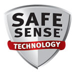 Fellowes Safesense technology