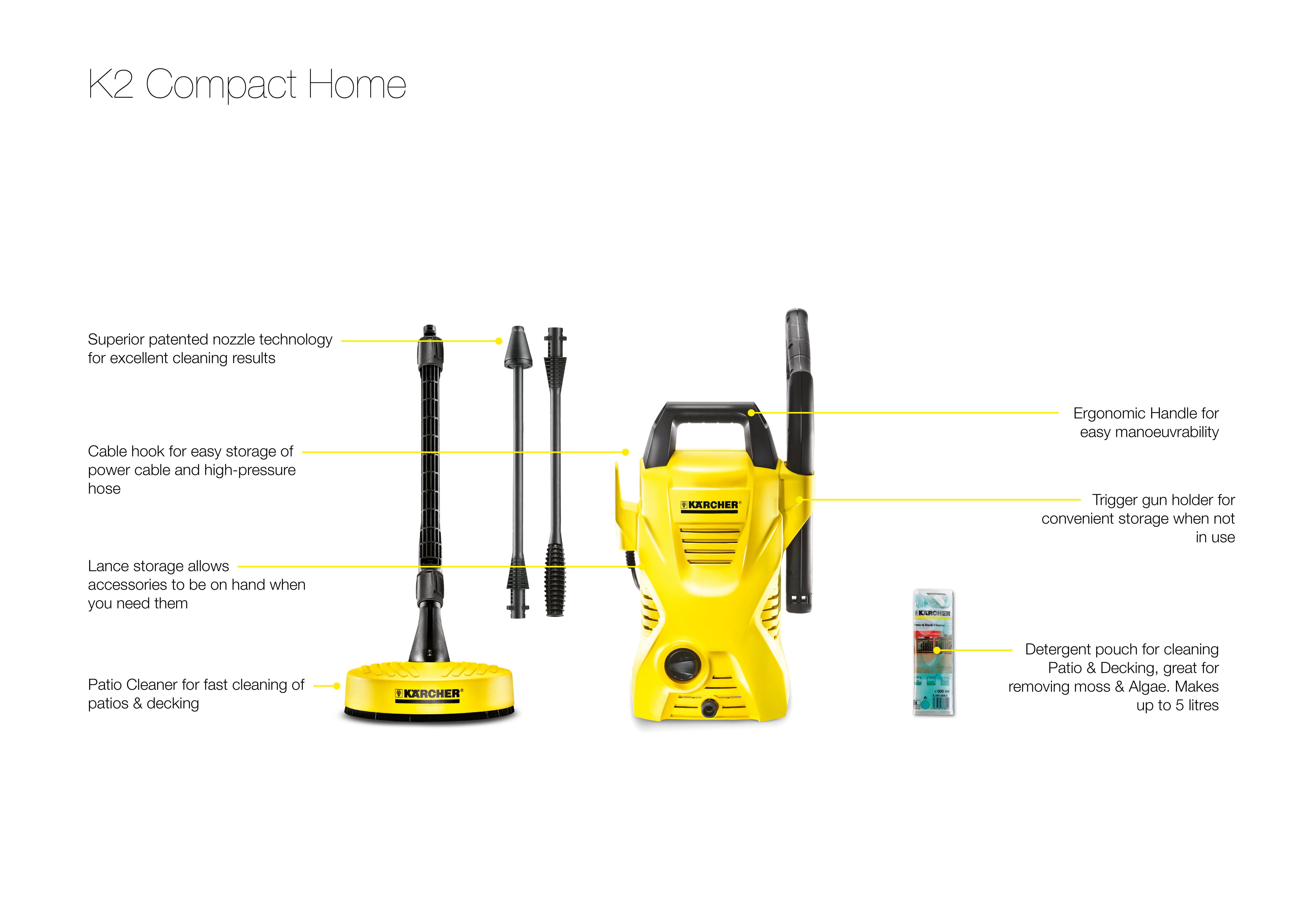 car washer k2 compact car pressure washer. Black Bedroom Furniture Sets. Home Design Ideas
