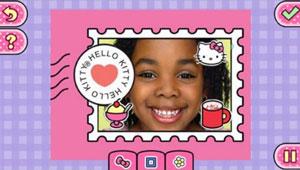Hello Kitty photo personalisation