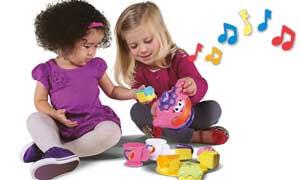 Teaches children about sharing