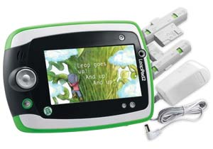 LeapPad2 with rechargeable battery pack