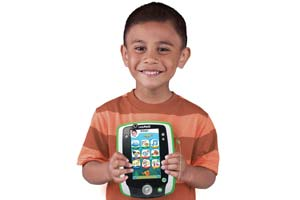 Child holding the LeapPad2 Power