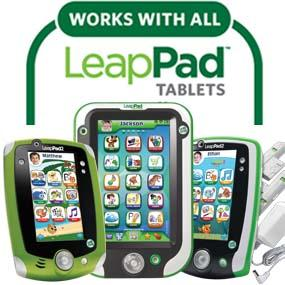 Works with all LeapPad tablets