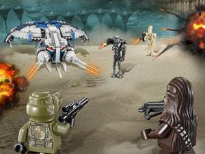Droid Gunship playset