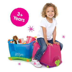 The ToyBox is suitable for children aged 3 years and over