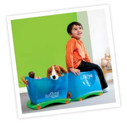 Buy two to make a Trunki train