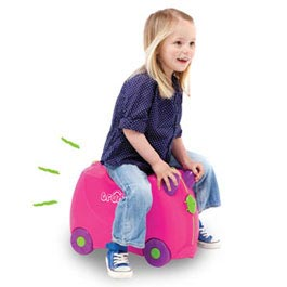 The original ride-on suitcase