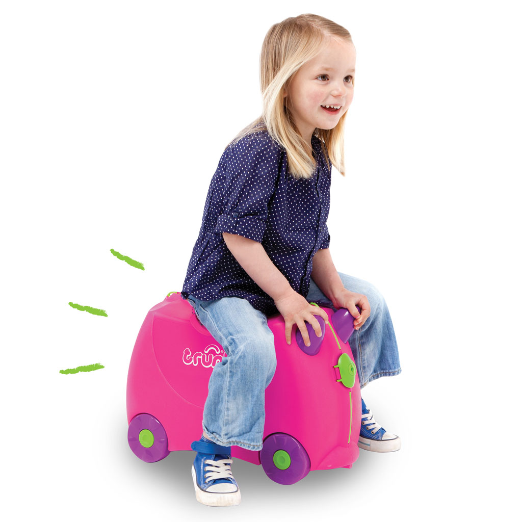 Trunki Ride-on Suitcase - Trunkisaurus Rex (Green) KIDS FUN TRAVEL ...