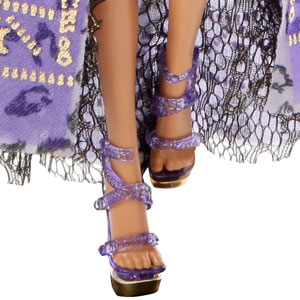 Clawdeen Wolf high-heel shoes