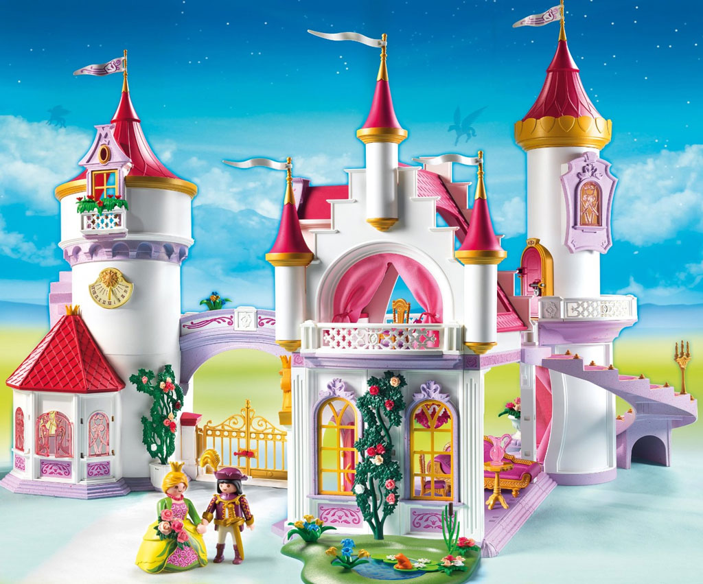 amazon uk playmobil princess castle