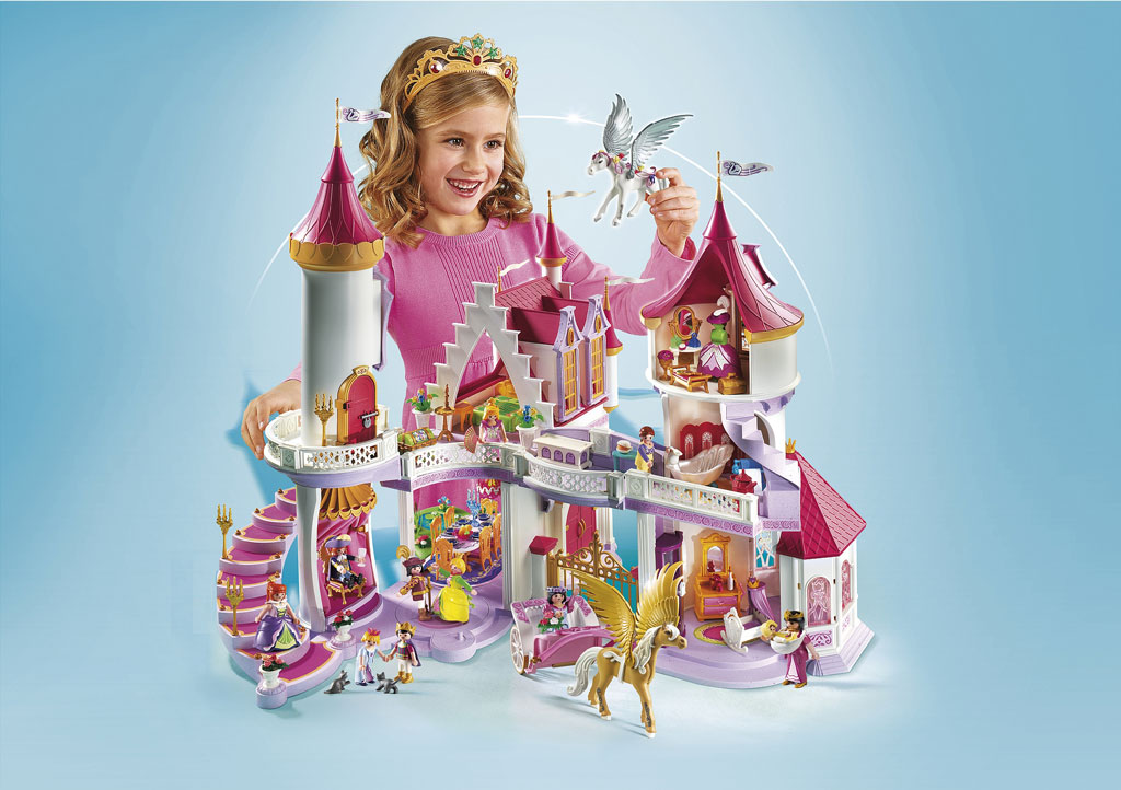 playmobil princess fantasy castle amazon