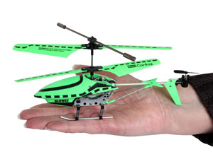 The Glowee RC Helicopter