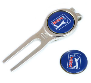 Divot tool and ball marker