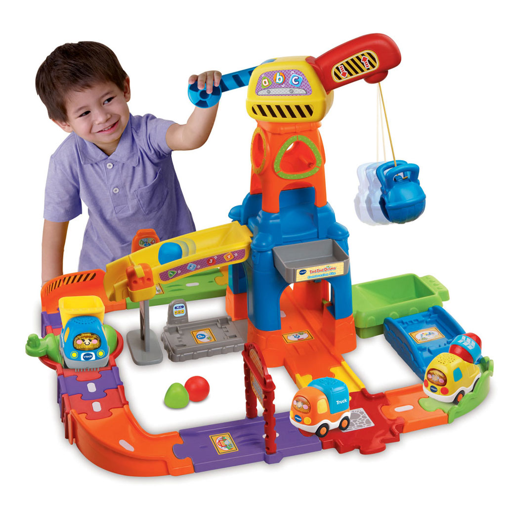 Construction Site: Vtech Baby Toot-toot Drivers ...