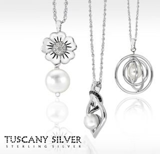 Tuscany silver jewellery collection