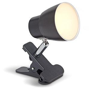 amara led 1x 2 5w klemmspot g10101 06 schwarz chrom. Black Bedroom Furniture Sets. Home Design Ideas