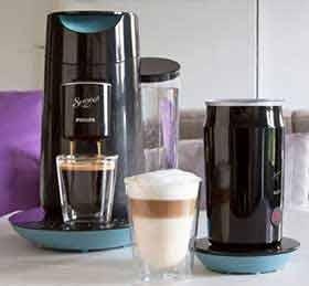 philips senseo hd7874 60 twist milk kaffeepadmaschine misty dawn schwarz us214. Black Bedroom Furniture Sets. Home Design Ideas