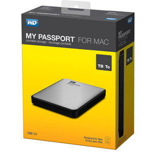 Verpackung WD My Passport for Mac
