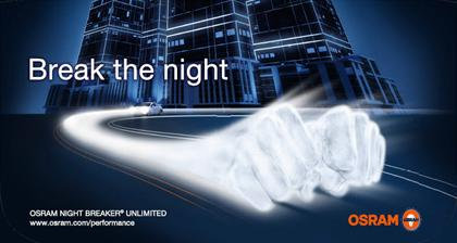 OSRAM NIGHT BREAKER Unlimited +110%